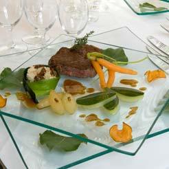 Repas de Gala - traiteur Chardon Bleu