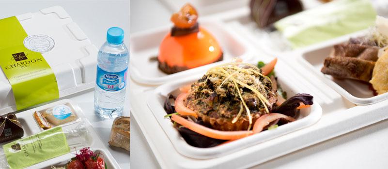 plateaux-repas au chardon bleu