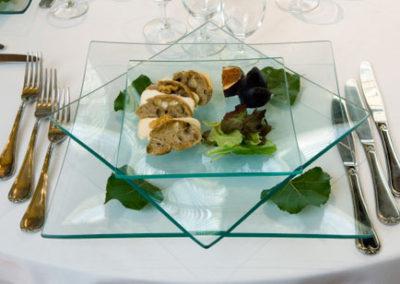 assiette dressée repas de gala 02