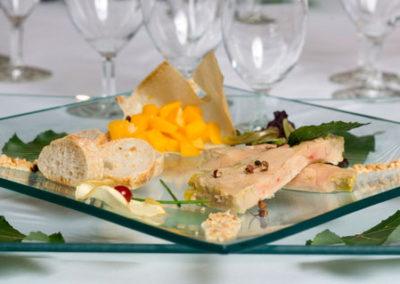 assiette dressée repas de gala 03