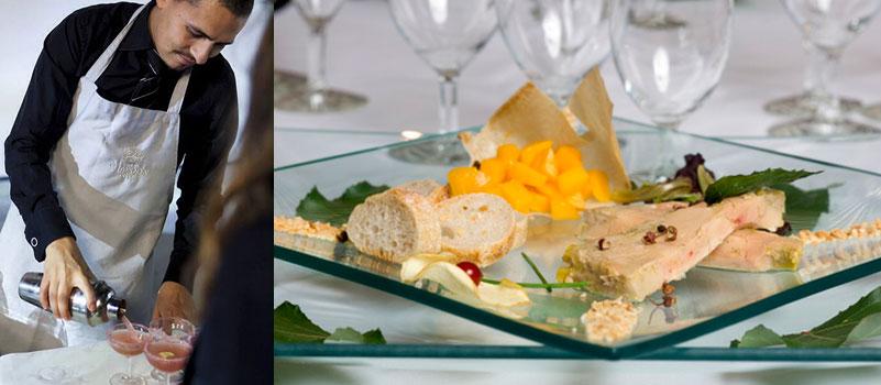 repas de gala au chardon bleu